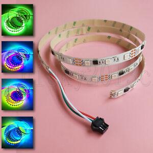 1M 12V WS2811 5050 RGB LED Flexible Strip Light Rope 60LEDs Addressable Magic