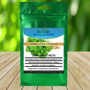 Cilantro Coriander Extract Vegetable Capsules linalool λ-terpinene