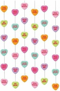 Candy Heart String Hanging Decorations