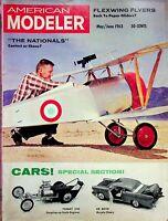 Vintage American Modeler Magazine May/Jun 1963 Flexwing Flyers Tommy IVO m1004