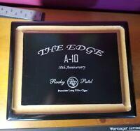 Rocky Patel - THE EDGE A-10 Limited Edition TORO Cigar Box **10th Anniversary**