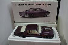 1/18 Biante HQ Holden MONARO Street Machine Purple