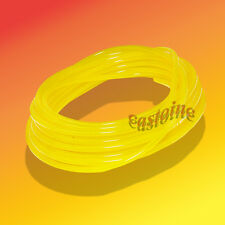 50 Ft Tygon Clear Yellow Gas Fuel Line, Flexible, Resists Swelling , Hardening