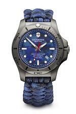 Victorinox 241813 I.N.O.X Professional Divers Titanium Blue Paracord Mens Watch