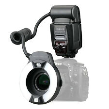 US Meike MK-14-EXT Macro TTL ring flash AF assist lamp For Nikon D750 D7100 D80