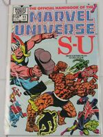 "Official Handbook of the Marvel Universe #11 ""S-U"" Nov. 1983 Marvel Comics"