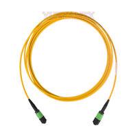 5M MPO Female 12 Fibers Type B LSZH G657A 9/125 Single Mode Elite Trunk Cable