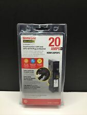 Square D Homeline Hom120pdfc 20a Dual Function Afcigfci Breaker New