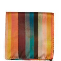 Paul Smith Pocket Square Handkerchief  Signature Artist Multi Stripe