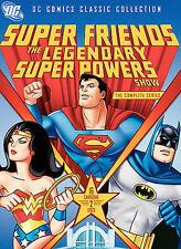 Superfriends: The Legendary Super Powers Show (DVD, 2007, 2-Disc Set) New