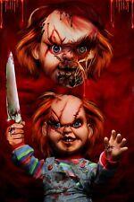 Chucky. a5 impresión original. por Paul inviernos obra de arte.
