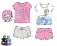 Vêtements Fille Frozen Elsa Ensemble Manche Courte De Bébé Fille 4 5 6 8 Âge