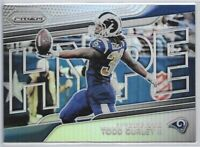 2018 Prizm Todd Gurley Hyped Silver Refractor Insert SP No. H9