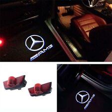 2x Türlicht LED Beleuchtung AMG Logo Laser Projektor Mercedes W204 S204