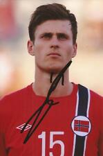 NORWAY & WEST HAM: HAVARD NORDTVEIT SIGNED 6x4 ACTION PHOTO+COA