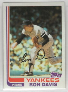 1982 Topps Baseball New York Yankees Team Set (42 cards)