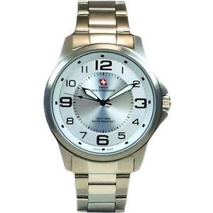 Swiss Mountaineer 100M Wasserdicht Weißes Zifferblatt Herren? Armbanduhr SMW001