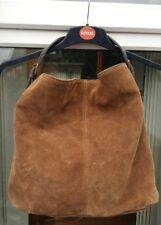 NEXT brown suede bag ... large