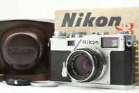 Original model 【N.MINT】 Nikon S3 + Nikon 5cm 50mm f/2 Nikkor-H.C lens From JAPAN