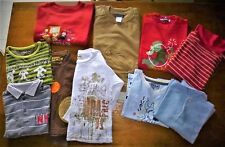 LOT RENTREE DES CLASSES--GARÇON SWEAT-DECATHLON-S.MAJOR-TEE SHIRT POLO -T.4 ANS