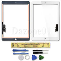Front Touch Screen White Digitizer Replacement for iPad Air A1474 A1475 A1476 US