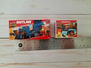 Kenner MASK Repro Box 1:12 Outlaw & Boulder Hill Mini Boxes M.A.S.K.