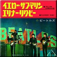 The Beatles - Yellow Submarine / Eleanor Rigby - Japanese Cover - Fridge Magnet