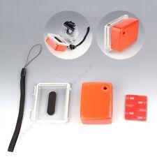 For GoPro Hero 3 Floaty Float Box + 3M Adhesive + Waterproof Backdoor Cover Kit