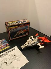 Micronauts- Neon Orbiter Die Cast toy Complete! + Box, Instructions & Pamphlet