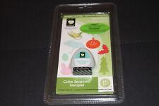 Cake Seasonal Sampler RARE Cricut cartridge NIB