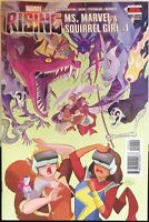 Rising Ms Marvel & Squirrel Girl #1 Comic recalled error 1st Print
