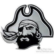 East Carolina Pirates ECU SD Premium Metal Chrome Car Auto Emblem University of