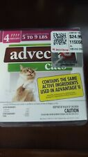 Advecta Plus Flea Squeeze on for Small Cats, 4 Month Supply