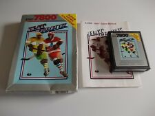 HAT TRICK by Bally Sente,Inc.   ATARI 7800 GAME COMPLETE  (TESTED AND WORKING)