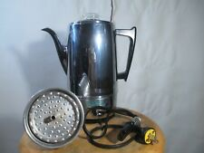 Vintage Frary & Clark Corona Electric Percolator #4415 Tested