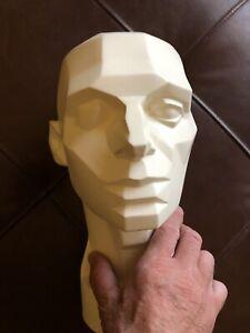John Asaro - Planes Of The Head Sculpture -1976 - Art Study Dynamics Of The Head