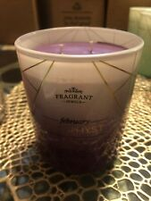 Fragrant Jewels Amethyst Birthstone Candle with ring. Ring size 9