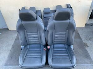 ✔LEXUS 14-16 IS250 F-SPORT COMPLETE INTERIOR SEATS SET CUSHIONS ASSEMBLY OEM