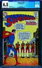 Superman 153 CGC 6.5 -- 1962 -- Criminals of Krypton. #1488145007