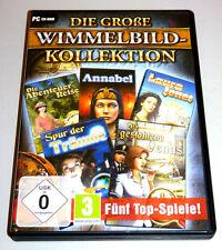 DIE GROßE WIMMELBILD KOLLEKTION PC DEUTSCH Wimmelbild Collection Box Set