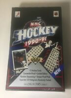 1990-91 Upper Deck NHL Cards - LOW SERIES - Factory Sealed Boxes