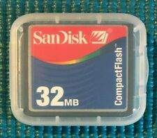 Sandisk 32MB Compact Flash Memory Card
