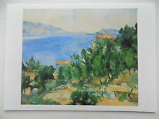 Paul Cezanne Bay of L'Estaque from the East 1882 6x4 Inch Postcard New