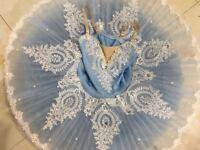 Adult Professional Ballet Tutu Skirt Dance Dress Kids Ballet Ice Queen Costume
