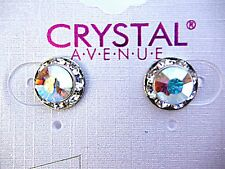 Ab crystal earrings dance moms Ballroom competition perfomance swarovski kids