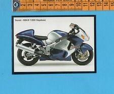 SUZUKI GSX 1300 R HAYABUSA PROSPEKT 12//98 1998 brochure opuscolo MOTO MOTO