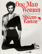 SHEENA EASTON One Man Woman Ex EMI UK 1980 1980s Pop Sheet Music