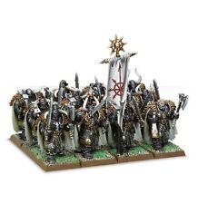 Warhammer 83-06 Warriors of Chaos Regiment 12 x Miniature Figure Kit T48