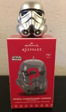 Hallmark 2017 Star Wars Imperial Stormtrooper Surprise Ornament Silver