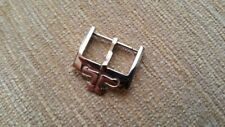 18mm Steel Silver Tang Buckle-Clasp For Jaeger Le Coultre Straps end at 18mm